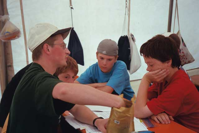 Zeltlager Boni-Arche-Camp 2003: Workshops