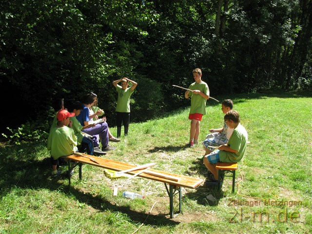Zeltlager Boni-Arche-Camp 2013: Workshops