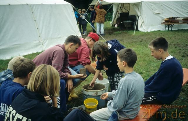 Zeltlager Boni-Arche-Camp 1997: Workshops